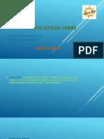 Proyecto Especial Tambo
