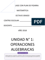 2019 Esmate Plan Pizarra 8º Grado u1, II, III 1º Trim
