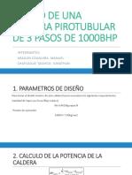 Caldera Pirotubular de 1000 Bhp