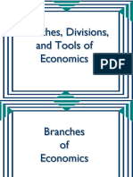 Branches, Divisions, and Tools of Economics.pptx