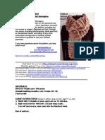 Free Pattern Knit Scarf