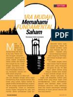 Cara Mufah memahami Fundamental Saham