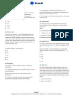 LISTA 3 STOODI - FÍSICA - Aplicações Das Leis de Newton
