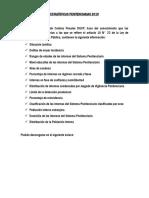 Estadísticas Penitenciarias (Año 2019)