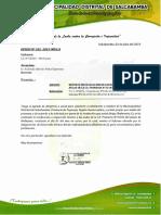 Oficio N°242-2019-MDS-A