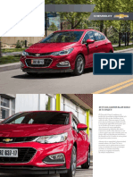 Catalogo Ficha Tecnica Chevrolet Cruze5 2018