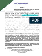 Anexo IV -Plano de Limpeza e Desinfecção 2013