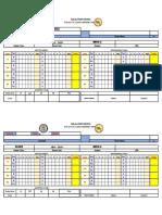 Mapeh Class Card 2021