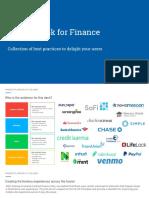 PDF Finance Ux Playbook