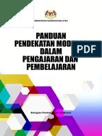 15 Buku Panduan Pendekatan Modular Dalam PdP