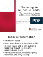emotional intelligence and authentic leadership