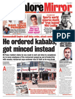 Banglore Mirror@AllIndianNewsPaper4u 16