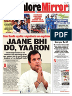 Banglore Mirror@AllIndianNewsPaper4u 19