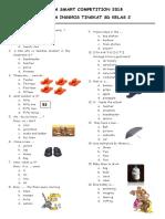 Soal-soal Bahasa Inggris Untuk Sd(4)