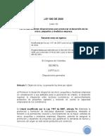 ley-590-2000