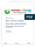 Handa Ka Funda- Old GK Questions