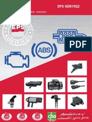 Fiat Tipo o Tempra Rpm Sensor 9944264