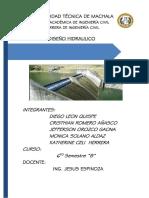 Informe Diseño Final Toma de Fondo