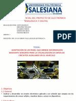 PROYECTO DE ELECTRÓNICA ANALÓGICA Y DIGITAL