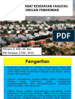 Syarat-syarat Kesehatan Fasilitas Lingkungan Pemukiman