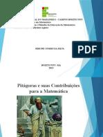 Pitágoras e Suas Contribuições