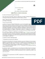 Derecho Del Bienestar Familiar [CIRCULAR_MINPROTECCION_0001_2004]