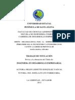 Diseño Organizacional Para La Empresa Automotriz Pérez Dedicada Al Tecnicentro y Automotriz en El Cantó
