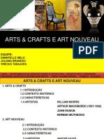 Arts & Crafts e Art Nouveau