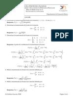 Hoja Ejercicios Fourier 2019A 6 Transformada de Fourier