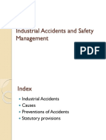 Industrial Accidents and Safety Management