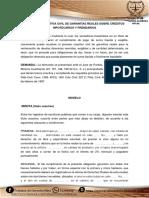 Ejecución Coactiva Civil de Garantías Reales Sobre Créditos Hipotecarios y Prendarios