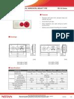Combination Box Horizontal SR-DAT-00