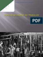 Tópicos de Higiene do Trabalho - Profº Luiz Scienza