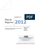 Plan Negocios Museo