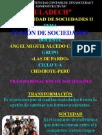 112735989 Transformacion de Sociedades Diapositivas