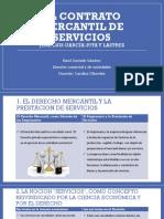 Contrato Mercantil de servicios