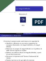 S26 La Integral Definida (1)