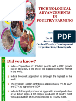 Technological Advancement in Poultry