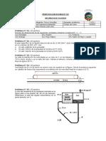 Práctica Calificada de Mecánica de Fluidos 2019 1 - N° 01 FCAM