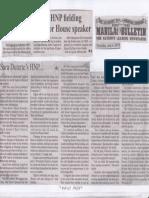 Manila Bulletin, July 4, 2019, Sara Duterte's HNP fielding Davao City solon for House speaker.pdf