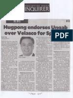 Philippine Daily Inquirer, July 4, 2019, Hugpong endorses Ungab over Velasco for Speaker.pdf