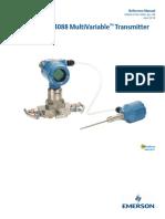 Manual Rosemount 4088 Multivariable Transmitter en 78314