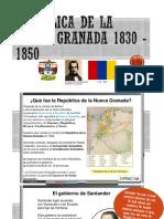 República de La Nueva Granada 1830 - 1850 (1)