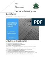 Arquitectura de Software y Sus Beneficios