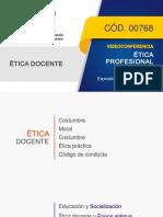 0768-I Etica Profesional Docente_22 Febrero 2019