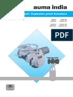 Explosion Proof Actuators