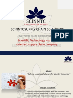 Scinntc Supply Chain Solutions