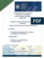 Principales Fundamentos de Los Sistemas Ambientales y Su Naturaleza