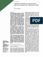 1995 Dexamethasone Treatment for Acute Bacterial
