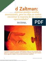 Gerald Zaltman Las Sorpresas Pueden Resultar Amenazantes Pero en Ellas Se Suelen Encontrar La Mayoria de Las Nuevas Oportunidades